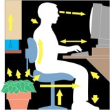10 Tips For Healthy Back When Sitting And Working In Front Of The Computer All Day