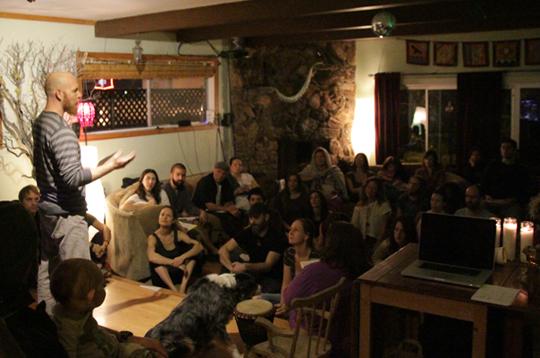 Ilan Mandel Presenting Healers Worldwide's Vision