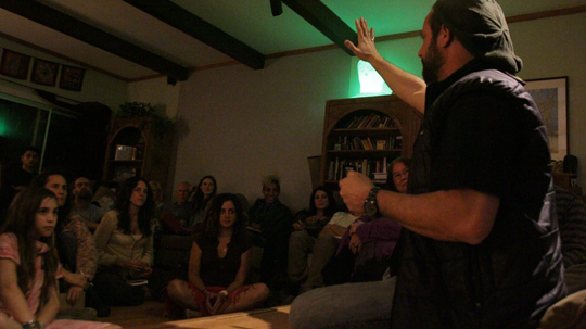 Michael Brian Baker Sharing His Experience